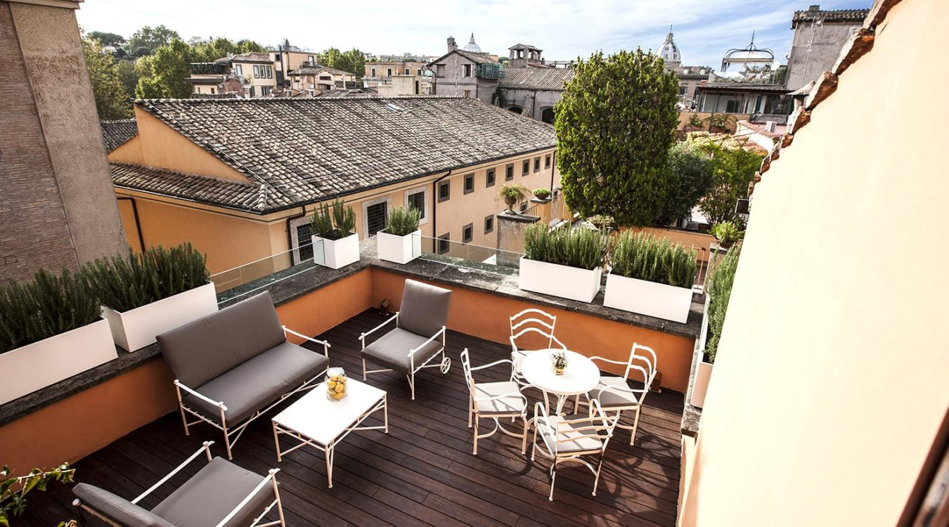 D O M Hotel 5 Star Rome Historical Center Luxury Design