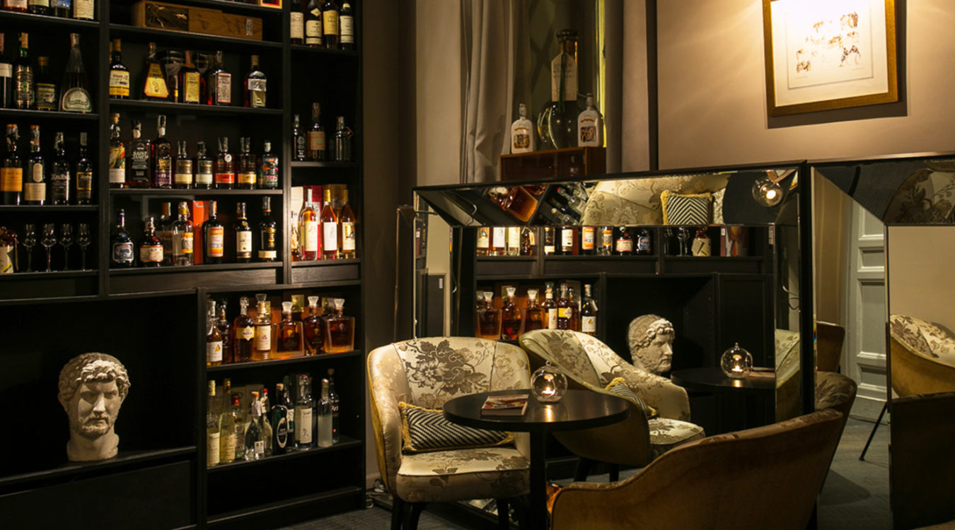 Liquor Room The Charm Of Distillery In Rome D O M Hotel