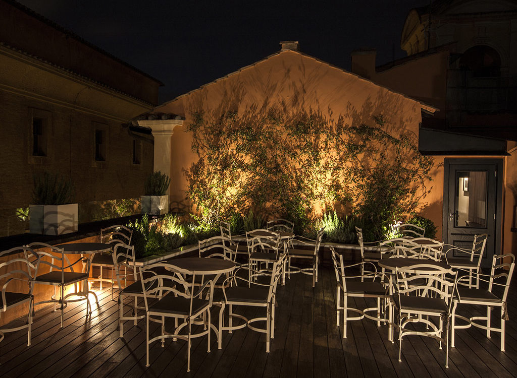 Restaurant with Terrace in the Center of Rome | D.O.M Hotel